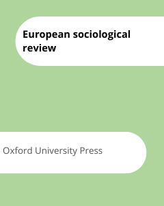 Cover European sociological review