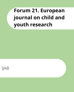 Cover Forum 21. European journal on child and youth research