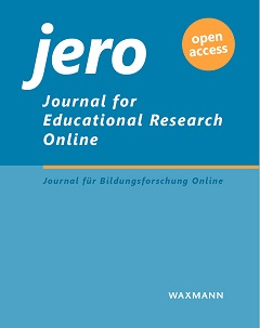Cover Journal for educational research online