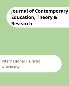 Cover Journal of Contemporary Education, Theory & Research