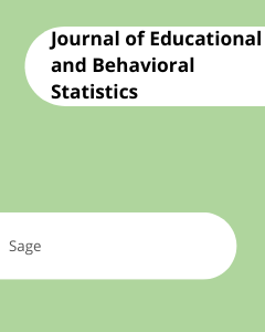 Cover Journal of Educational and Behavioral Statistics